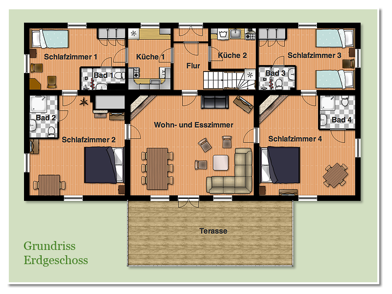 ferienhaus v stergtoland schweden das haus. Black Bedroom Furniture Sets. Home Design Ideas